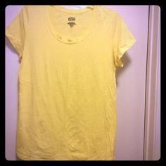 Yellow TSHIRT NWOT Tops Tees - Short Sleeve