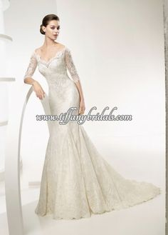 I this dress! La Sposa Wedding Dresses, Lace Weddings, Wedding Dress Styles, Formal Dresses, Brain Storm, Lemon, Dresses Online, Wedding Stuff, Gowns