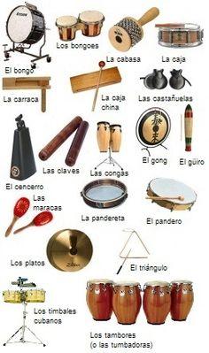 Las percusiones latinas