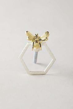 Anthropologie - Dangling Honeycomb Knob