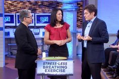 Natural Stress Solutions with Deepak Chopra, Pt 3. Dr. Oz and Deepak Chopra discuss Endorphinate, a new groundbreaking anti-anxiety supplement.