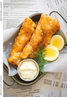 Beer Battered Hake | The Pretty Blog