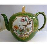 Gorgeous green tea 19th century