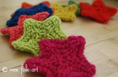 Knitting Stars | Wee Folk Art