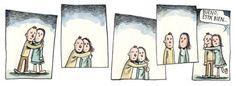 Liniers_Abrazos Hugs, Cute Phrases, Himym, Calvin And Hobbes, Quote Posters, In A Heartbeat, Illustration Art, Feelings, My Love