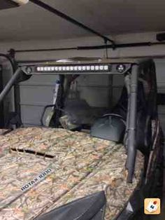 Yutrax UTV Jump Seat Beds, Seat at and Spaces