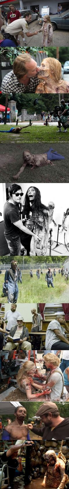 Behind the scene of The Walking Dead | Things for Geeks