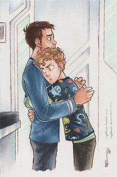 Another hug by CaptBexx.deviantart.com on @DeviantArt
