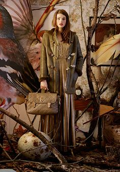 Mulberry Autumn Winter 2011 campaign, shot by Tim Walker.