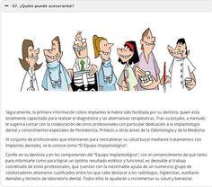 ¿ Quién puede asesorarme ? #implantesdentales