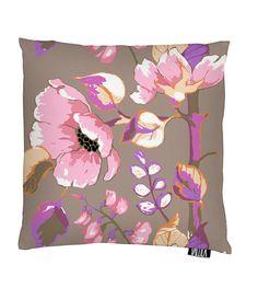 Vallila Interior AW14, Silkkisuukko cushion cover 43x43cm pink by Saara Kurkela