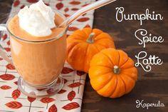 Café con Calabaza Especiada & Leche de Coco !! – Pumpkin Spice Latte versión FIT