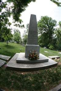 Thomas Jefferson Grave,  Monticello Cemetery, Charlottesville, Virginia