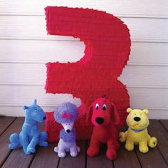 clifford party ideas | Clifford The Big Red Dog Birthday Party | Part 2