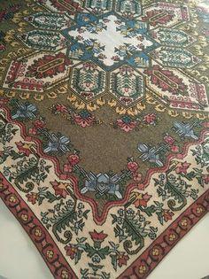 Cross Stitch Patterns, Bohemian Rug, Rugs, Handmade, Crafts, Ceramics, Bedroom, Decor, Dots