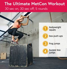 MetCon can mimic the effects of a longer cardio session in just 20 minutes via @DailyBurn