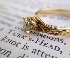 In this instructable, I'll go through the steps that I took to make a Turks head knot ring.
