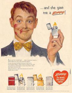 """Si usted se concentra en su """"Factor Personal de Éxito"""", el éxito está garantizado. Zippo (1953)."""