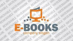 Ebook Book Logo Templates by Logann Sale Logo, Book Logo, Web Themes, Logo Templates, Education, Books, Store, Libros