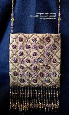 'Rare Vintage' bead embroidered bag (Inspirations issue #47).