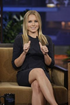 Kristen Bell recently chatted about Hulu's reboot of Veronica Mars and how proud she is to play such an empowering character. Beautiful Celebrities, Beautiful Actresses, Gorgeous Women, Simply Beautiful, Kristen Bell, Blonde Actresses, Le Jolie, Kirsten Dunst, Hot Blondes