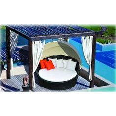 Check out the Prime Source S0003 Dazzle Round Sunbed with Shade