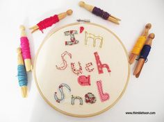 Embroidery hoop art I'm such a snob Textile by ThimbleHoop on Etsy