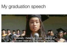 Graduation speech lmaooo. • kɑıℓıƗʘʘkuƗe •