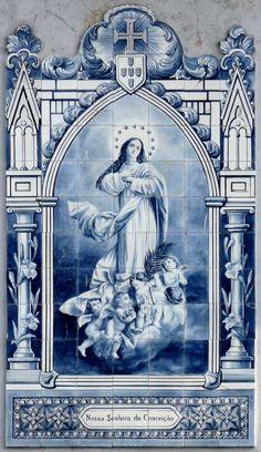 Azulejos do Nossa Senhora da Conceiçao