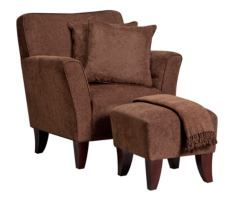 Celeste Chocolate 5-PC Chair with Accent Ottoman $299.99