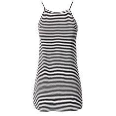 Honesty Dress (625 ZAR) ❤ liked on Polyvore featuring dresses, vestidos, shift dress, stripe shift dress, striped dress, mixed print dress and stripe dress