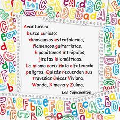 Abecegrama para niños Bullet Journal, Saitama, Alphabetical Order, Value Proposition, Alphabet Activities, Writing, Teachers, Words