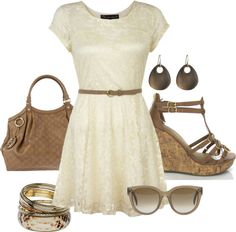 """""""Belted Dress"""" by orne-benes ❤ liked on Polyvore"""