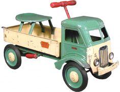 Keystone Pressed Steel Ride'Em Dump Truck Toy