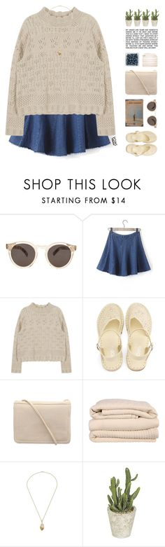 """""""Heavenly Father - Bon Iver"""" by chelseapetrillo ❤ liked on Polyvore featuring Illesteva, Brahms Mount and melsunicorns"""