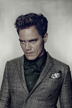 •• Nadav Kander •• Michael Shannon - corny photo - great actor.