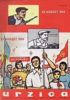Urzica, Aug Urzica was a magazine published in Romania by the Council of Culture and Socialist Education (Consiliul Culturii și Educației Socialiste), Bucharest. Socialist State, Socialism, Warsaw Pact, Central And Eastern Europe, Soviet Union, Romania, Memories, Comics, Retro