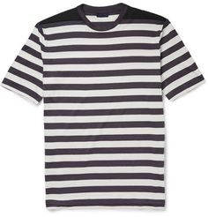 Lanvin Striped Cotton T-Shirt | MR PORTER