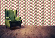 Pretty Proteas Wallpaper by handmade by me