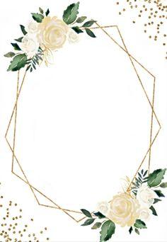 Iphone Background Images, Flower Background Wallpaper, Flower Backgrounds, Wedding Invitation Background, Floral Invitation, Floral Wedding Invitations, Wedding Frames, Wedding Cards, Flower Graphic Design