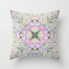 Heavenly Throw Pillow by Lyle Hatch - $20.00