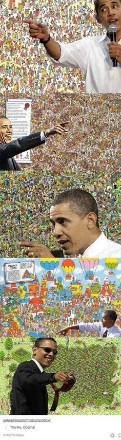 What Obama's been up to this whole time: