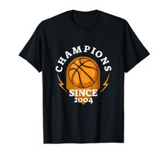 Champions Since 2004 Tee Shirt Tee Shirts, Tees, Amazon, Mens Tops, T Shirts, T Shirts, Amazons, Riding Habit, Amazon River