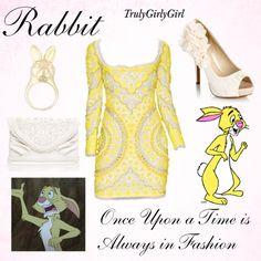 """Disney Style: Rabbit"" by trulygirlygirl on Polyvore"