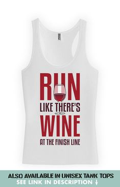 Funny Running Tank Top - Racerback Tank Top  For the same design in a Unisex Tank Top: