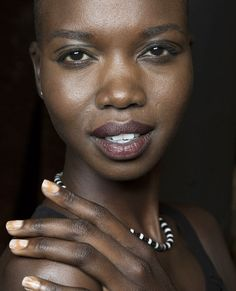 Lacquer Up In the Trendiest Fashion Week Manicures - Tracy Reese from #InStyle