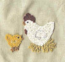 Punchneedle patterns for those who love to do punch needle