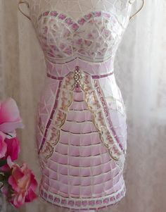 Use some cute fabric to make a cover for your dress form - after ...