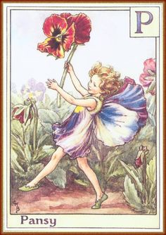Fairies and elves by Cicely Mary Barker #alphabet #magic #MinaVaan