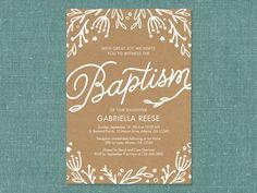 Floral Baptism First